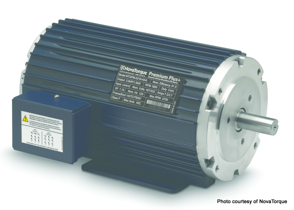 Ecpm motors for single phase hvac fan applications for Variable speed condenser fan motor